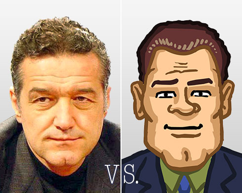"Becali vs. ""It's ok now!"" audible"