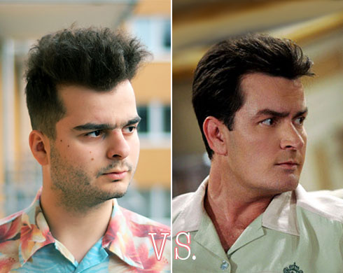 Jeg vs. Charlie Sheen