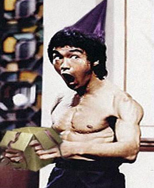 Bruce Lee just f*ckin' loved birthdays!