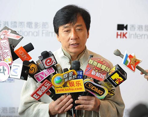 Jackie Chan's new weapons