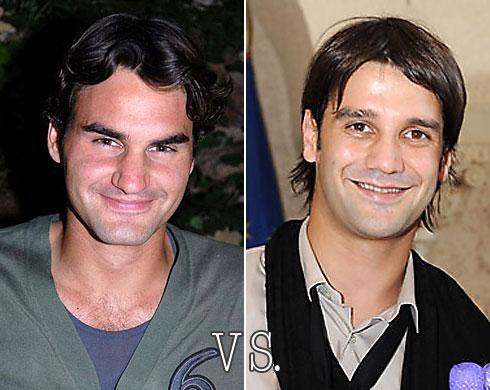 Roger Federer vs. Cristi Chivu
