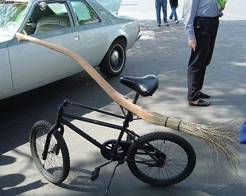 Harry Potter's bike
