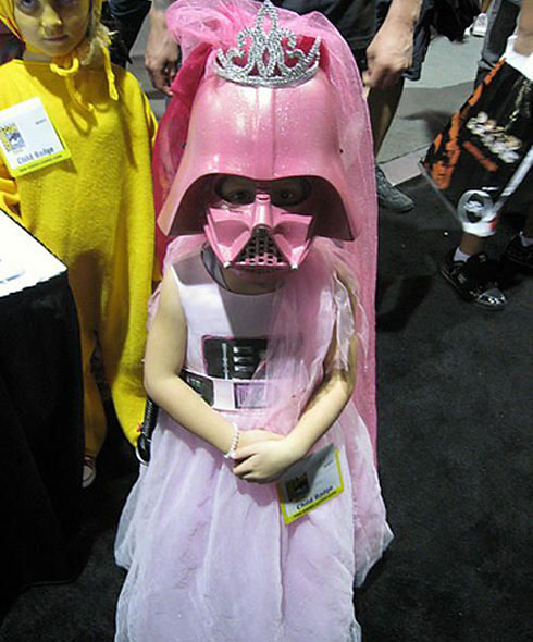 Little pink stormtrooper princess