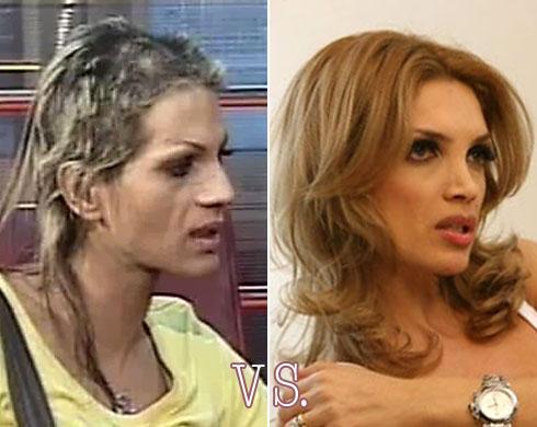 Naomi vs. Cristina Spataru