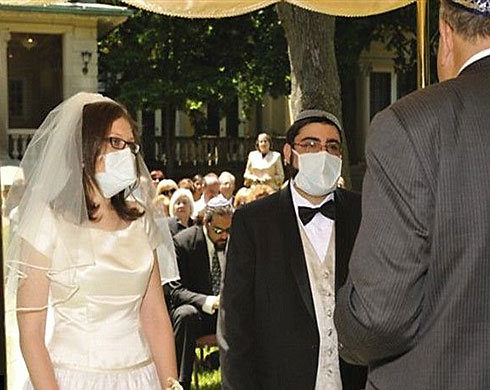 Swine flu: wedding