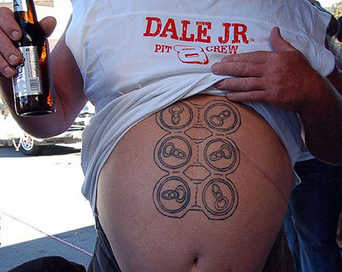 Tattoo: six-pack