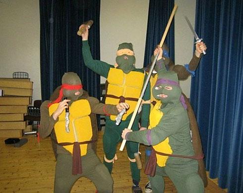 The real Ninja Turtles