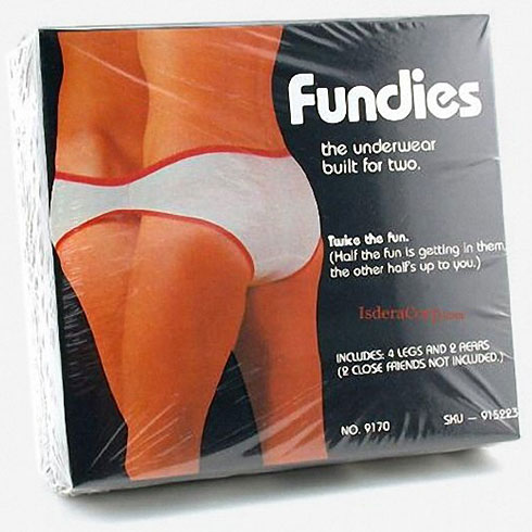The underwear built for two