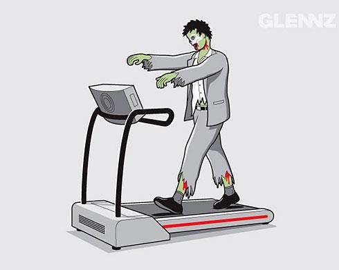 Zombie exercise