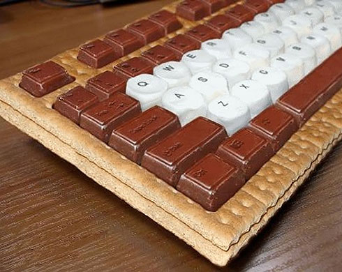 Sweeet keyboard...