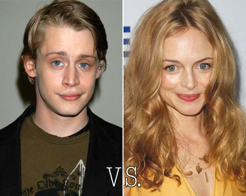 Macaulay Caulkin vs. Heather Graham