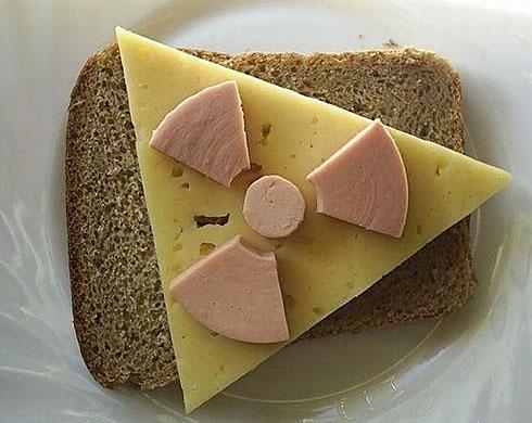 Radioactive sandwich