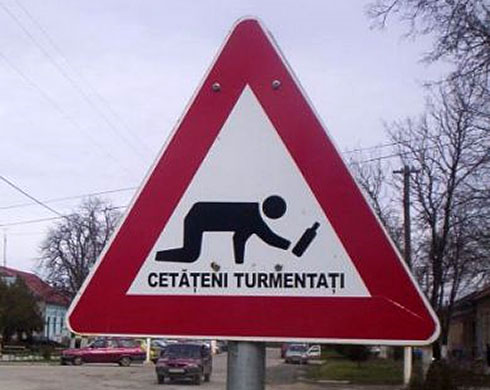 ATTENTION: Romanian drunkards!