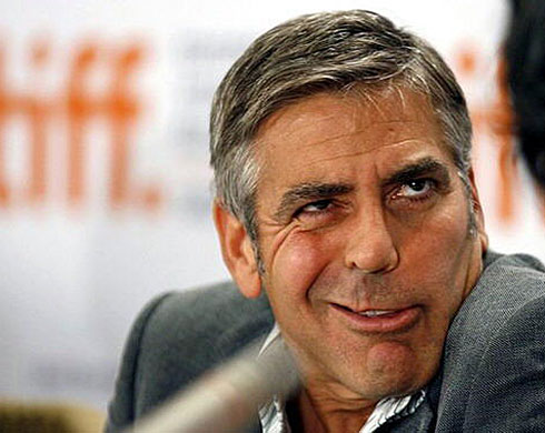 George Clooney's Face Disease