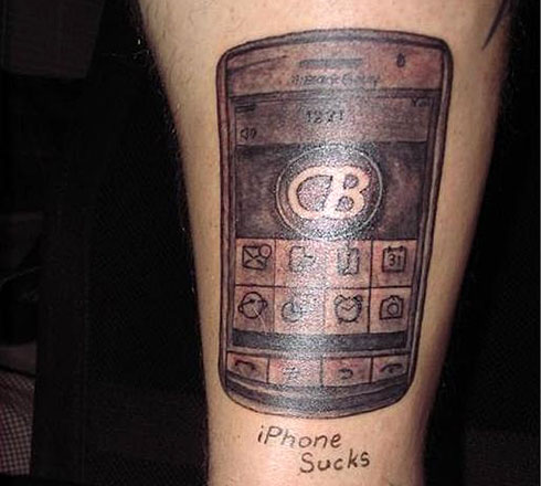 Tatoo: iPhone Sucks