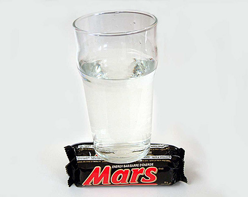 Undeniable Proof Of Water On Mars